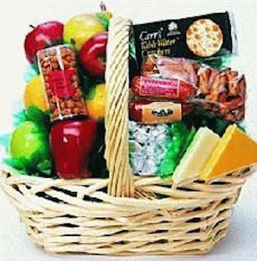 Fresh Fruit & Gourmet Basket